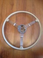 Rare VDM Petri banjo steering wheel