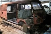 1963 Split window double door van restoration