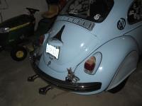 "1969 VW Beetle ""The Blue Bomb"""