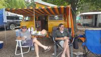 Camping Lake Benmore N.Z.