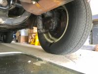 Leaky Westy SO42 near inside wheels rear end