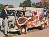 Hippy paisley panel