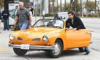 Actor Joshua Jackson's Karmann Ghia