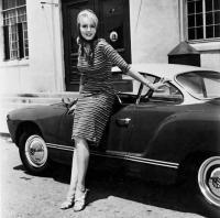 Julie Newmar's Karmann Ghia