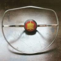 petri horn ring & brazilian button