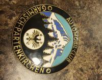 Automobilclub Garmisch Partenkirchen Badge