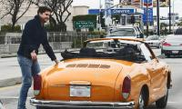 Karmann Ghia owned by actor Joshua Jackson
