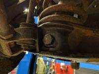 rusty lower shock bolt