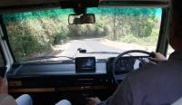 Van on drive