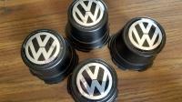 Passat Steel center cap with VW logo sticker