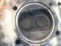 burned GE chamber, compared to its neighbor
