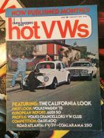 1975 Hot VW's California Look Issue #1
