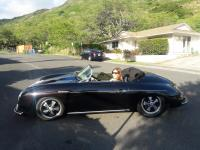 Pretty Lady in my Speedster in Hawaii