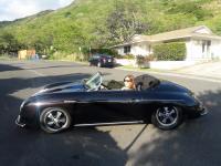 Pretty Lady in my Speedster in Hawaii