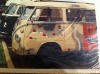 hippie frat bus, 1990, SMU Dallas