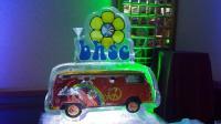 VW Bus ice sculpture
