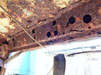 Engine lid hinge carrier