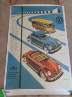 Volkswagen 1950 AMAG Poster