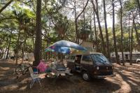 Camping at Hunting Island, SC