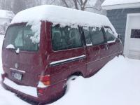 Eurovan in snow
