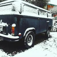 Betty, 1973 Type 2 , V6 Ford Cologne Swap /