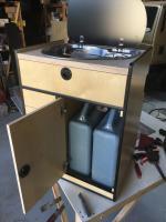 Custom Vanagon cabinets