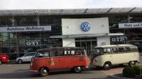 VWs and good grub  in Wolfsburg...