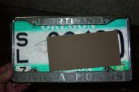 Riviera plate frame
