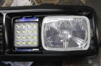Vanagon Rectangular Headlight Conversion w/LED Driving Lights