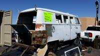 Bus for sale on trailer