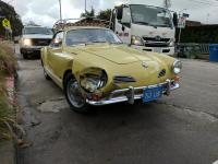 1970 Ghia accident damage