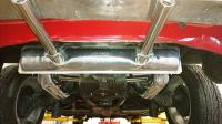 1972 Karmann Ghia 1600 engine, exhaust, thermostat & hinge