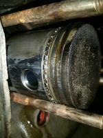 Hot 25hp piston