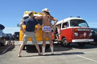 The Naked Cowboy VW Bus
