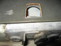 mouse hole for rear hatch exit