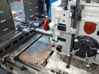 Using the G & L (Giddings and Lewis 4 inch Horizontal Boring Mill)