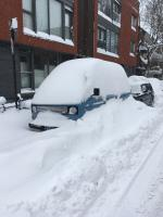 Winter Vanagon montreal