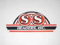 Vintage S&S Headers Decal Sticker