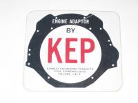 Vintage KEP Decal Sticker