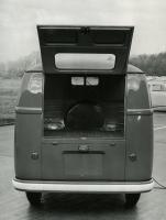 1955 1956 1957 VW Panelvan press photo