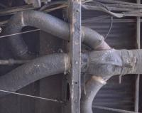 Bus underside and heating Y pipes