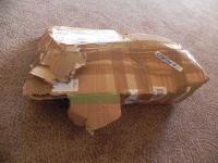 damaged box of VW parts 1