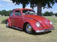 My 61 Rag at VW Expo June 27 Kent England.
