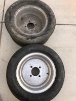 Rare 13x9 DDS slalom aluminum wheels