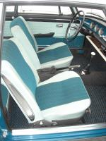 Sea Blue T34 1962-63 Upholstery