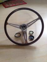 Black Button Empi GT steering wheel