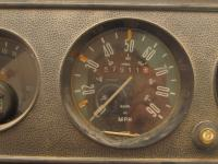 Marked Transporter Speedometer
