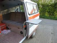 Campervan table legs - inside & out