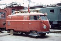 Swiss Federal Railways bus, 1970's