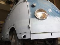 58 VW Pressed Bumper Walk Thru Bus